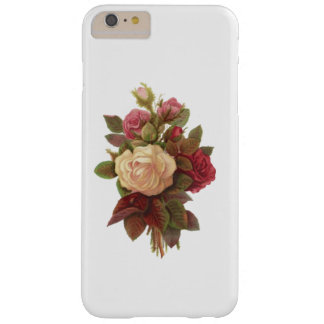 ELEGANT FLORAL VINTAGE RED AND WHITE BOUQUET BARELY THERE iPhone 6 PLUS CASE