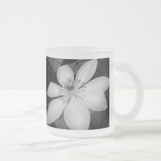 Elegant floral wedding favor mug