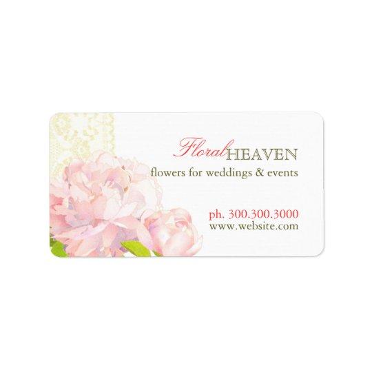 Elegant Flower Business Favour