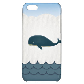 Elegant Flying Whale & Blue Ocean iPhone 5 Case