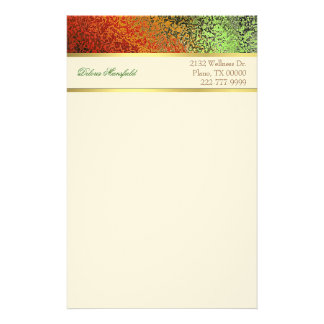 Elegant Foil Look Business Stationery