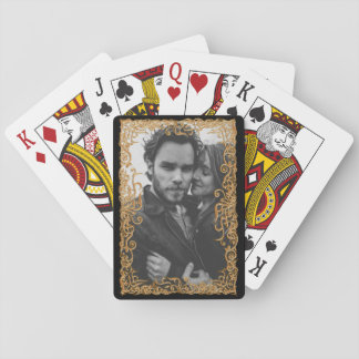 Elegant Frame With Photo Poker Deck