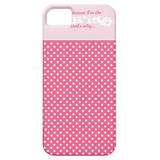 Elegant Funny Polka Dot Wedding Cell Phone Case