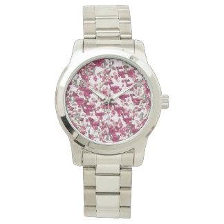 Elegant_Garden-Foliage(c) Silver Numbers_ Watch