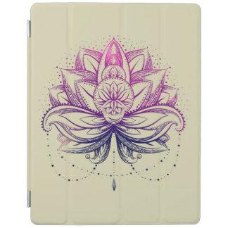 Elegant Gentle Purple  Watercolor Lotus / Lily flo iPad Cover