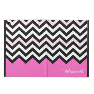 Elegant Girly Chic - Stylish Light Pink Chevron Powis iPad Air 2 Case
