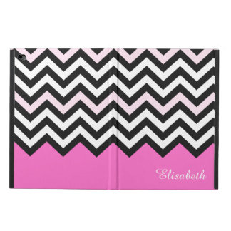 Elegant Girly Chic - Stylish Light Pink Chevron Powis iPad Air 2 Case