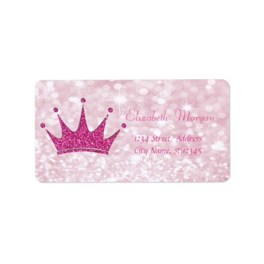 Elegant Girly  Pink Glittery,Bokeh, Tiara