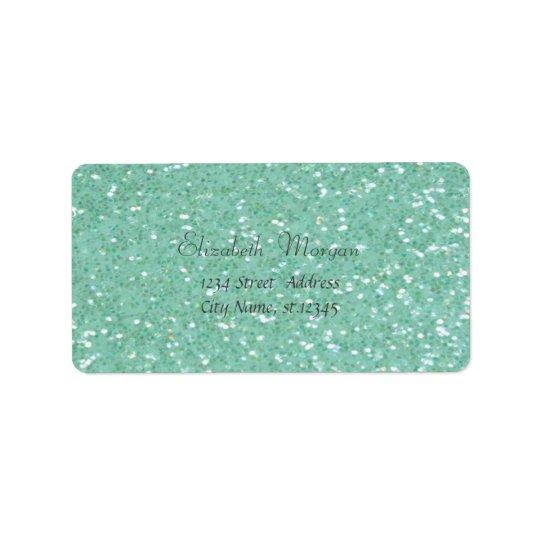Elegant Glamourous Green  Glittery