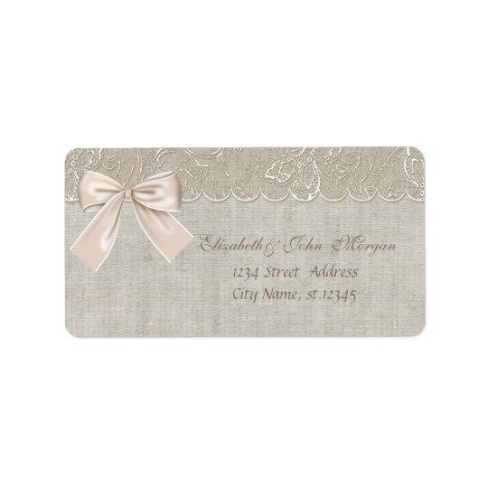 Elegant Glamourous  Romantic Stylish,Bow,Lace, Label
