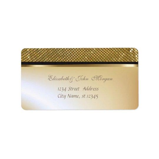 Elegant Glamourous  Stylish Shiny,Sequins Label