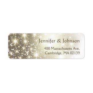 Elegant Glitter Sparkles Wedding
