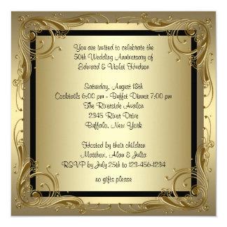 50th Anniversary Invitations Announcements Zazzle Canada