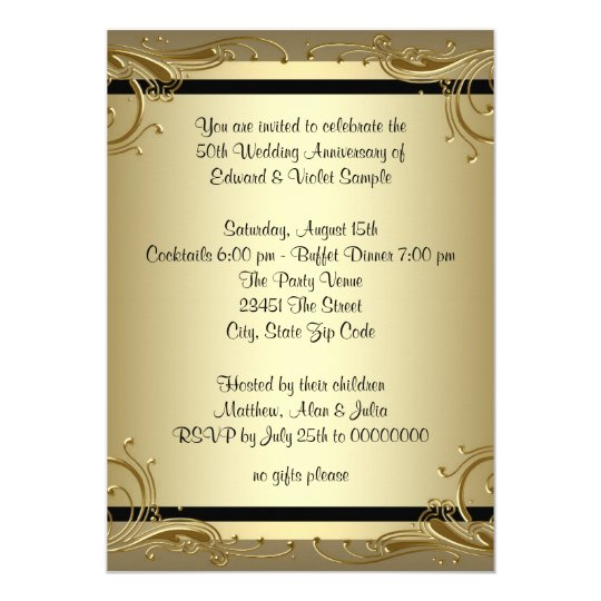 Wedding Anniversary Invitations & Announcements | Zazzle Canada