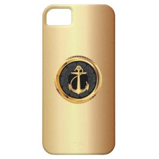 Elegant Gold Anchor Nautical iPhone 5 Case