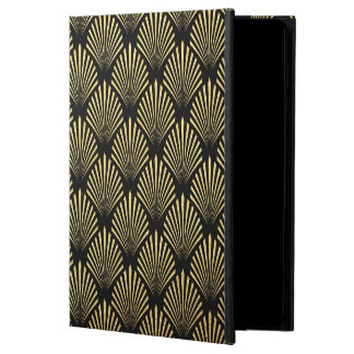 elegant gold black retro iPad Air 2 case