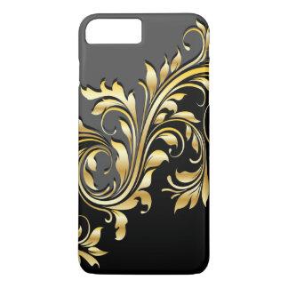 Elegant Gold, Blk and Grey Mobile Device Case