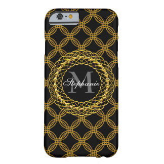 Elegant Gold Chains Personalized Barely There iPhone 6 Case