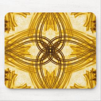 Elegant Gold Damask Mousepad