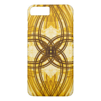 Elegant Gold Damask Pattern iPhone 7 Case