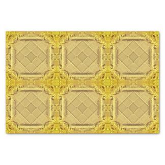 Elegant Gold Faux Foil Tissue Paper
