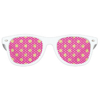 Elegant Gold Foil Polka Dot Pattern - Gold & Pink Party Shades