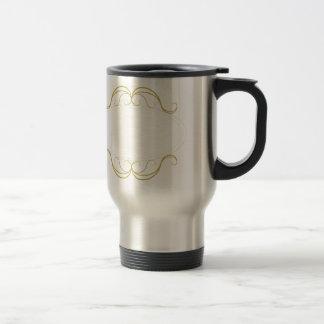 Elegant Gold Frame 15 Oz Stainless Steel Travel Mug