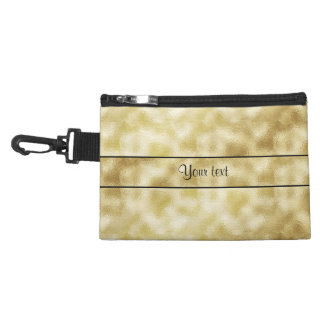 Elegant Gold Frost Accessories Bags