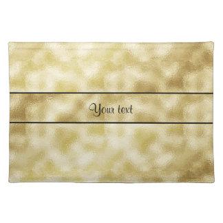 Elegant Gold Frost Place Mat