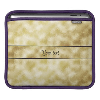 Elegant Gold Frost Sleeves For iPads