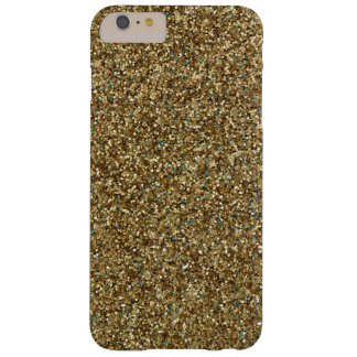 Elegant Gold Glitter Luxury Bling Barely There iPh Barely There iPhone 6 Plus Case