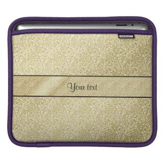 Elegant Gold Leaf iPad Sleeves
