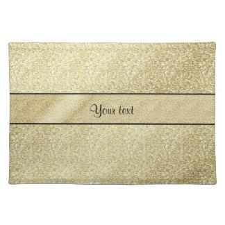 Elegant Gold Leaf Placemats