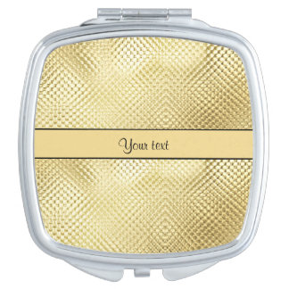 Elegant Gold Mirror For Makeup