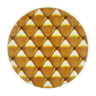 Elegant Gold Scale Pattern Boards