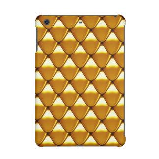 Elegant Gold Scale Pattern iPad Mini Cover