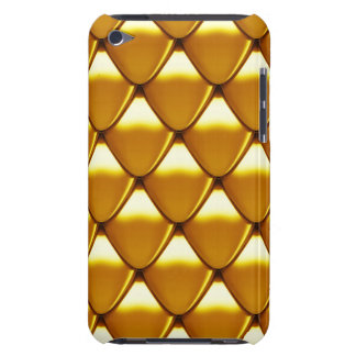 Elegant Gold Scale Pattern iPod Touch Cover