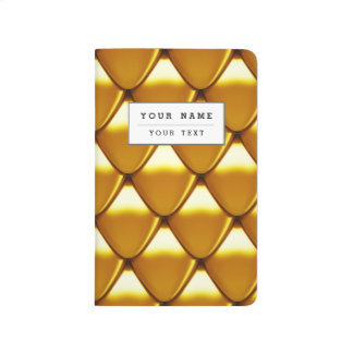Elegant Gold Scale Pattern Journal