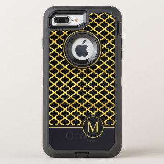 Elegant Gold Seamless Monogram | Otterbox Case