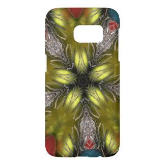 Elegant Gold Silver Kaleidoscope Christmas Star Samsung Galaxy S7 Case
