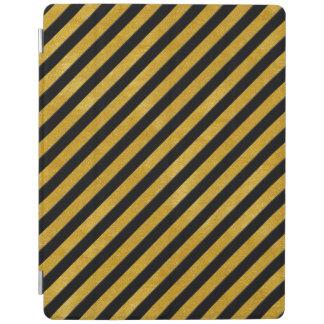 Elegant Gold Stripe -Custom Your Color- iPad Cover