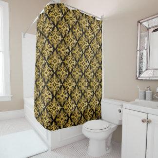 Elegant Gold Vonster Shower Curtain