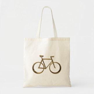 Elegant Golden Look Bike Bicycle Cycling Cyclist