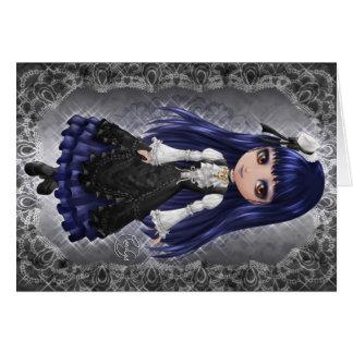 Elegant Gothic Aristocrat Card