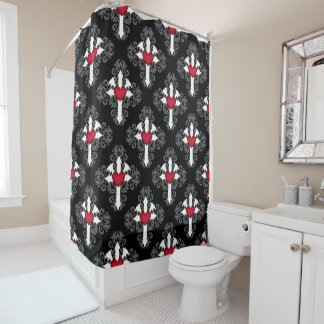 Elegant gothic cross pattern