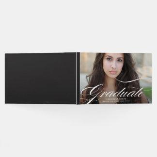 Elegant Graduate Photo Guest Book