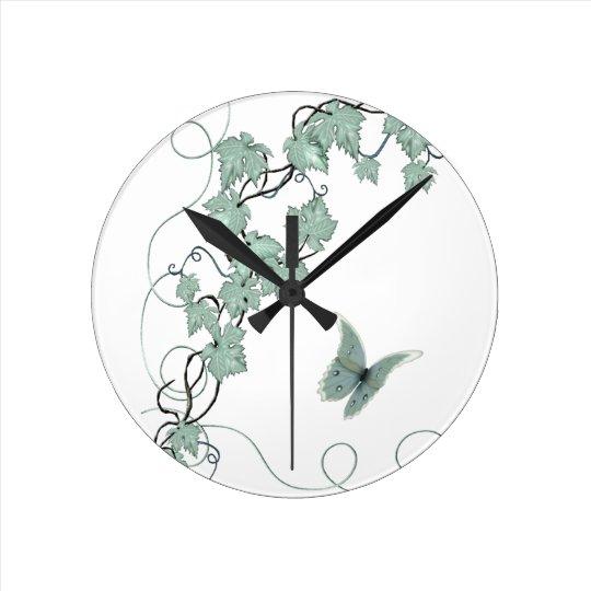 Elegant Grapevine Kitchen Clock