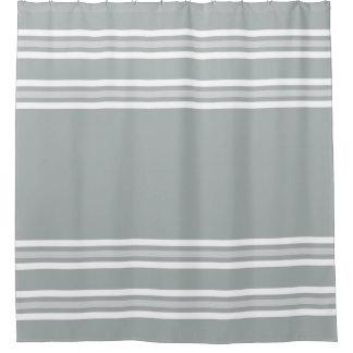 Elegant Gray And White Striped