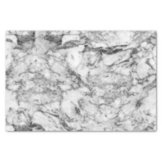 Elegant gray white modern marble texture patterns tissue paper