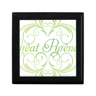 Elegant Great Pyrenees Gift Box